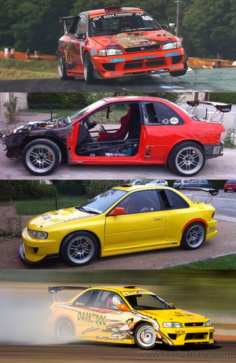 Impreza GC8 from Team Orange