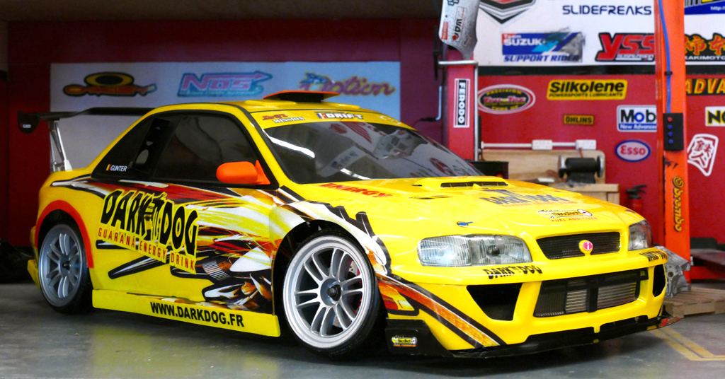 Tamiya Impreza GC8 Dark Dog