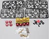 Tamiya 49294 TRF DAMPER SET - FLUORINE COATED RED