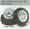 Tamiya 50308 PORSCHE 959 RALLY TYRE WITH WHEEL