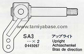 Tamiya UPRIGHT 10445097
