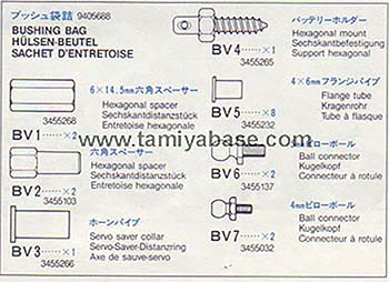 Tamiya BUSHING BAG 19405688