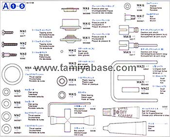 Tamiya METAL PARTS BAG A 19415168