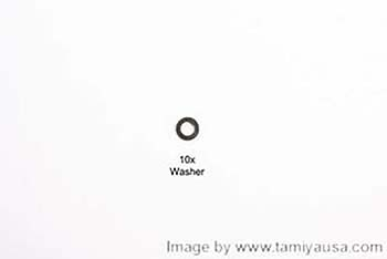 Tamiya 4mm WASHER 19804370