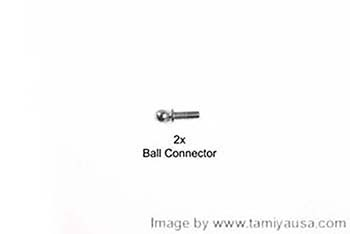Tamiya 5X9mm HEX HEAD BALL CONNECTOR 19804381