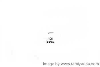 Tamiya 2X8mm SCREW 19805556