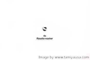 Tamiya 3mm ROSETTE WASHER 19805631