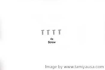 Tamiya 3X8mm COUNTERSUNK SCREW 19805637