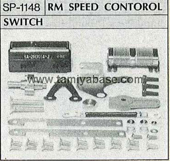 Tamiya FORWARD VARIABLE RESISTOR AND MICRO SWITCH WITH BRAKING CIRCUIT 50148