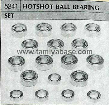 Tamiya HOTSHOT BALL BEARING SET 50241