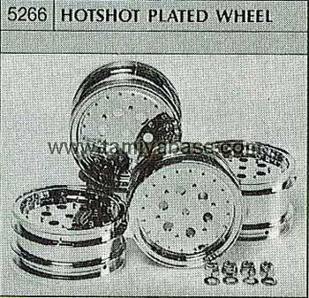 Tamiya HOTSHOT PLATED WHEEL 50266