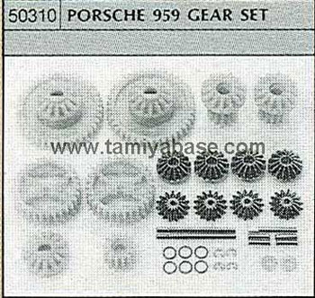 Tamiya PORSCHE 959 GEAR SET 50310