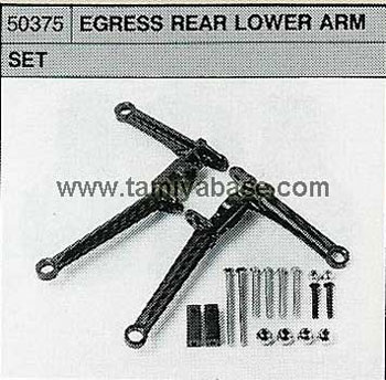 Tamiya EGRESS REAR LOWER ARM SET 50375