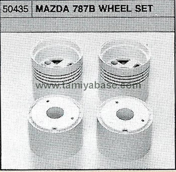 Tamiya MAZDA 787B WHEEL SET 50435
