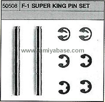 Tamiya F-1 SUPER KING PIN SET 50508