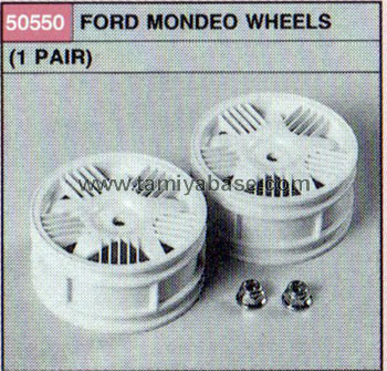 Tamiya FORD MONDEO WHEELS (1 PAIR) 50550