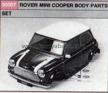 Tamiya 1/10-BP- MINI COOPER ROVER , -BODY SET 50567