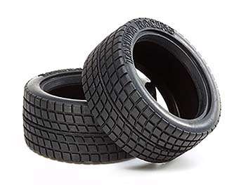 Tamiya M-CHASSIS RADIAL TYRE x 2 50568