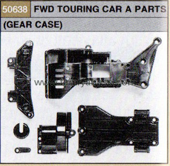 Tamiya FWD TOURING CAR A PARTS (GEAR CASE) 50638