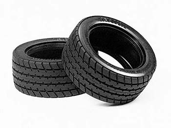 Tamiya M-CHASSIS 60D RADIAL TYRES x 2 50683