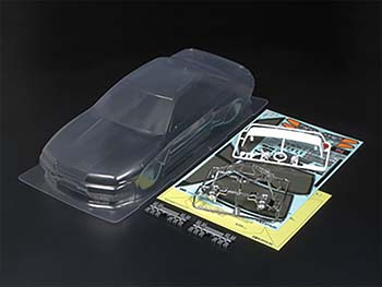 Tamiya (11825330) BODY SET (TRANSPARENT) 51365