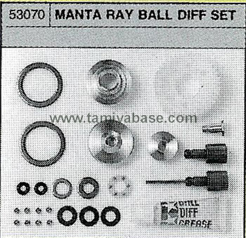 Tamiya BALL DIFP. SET 53070