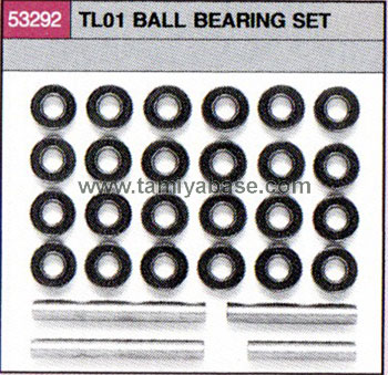 Tamiya TL01 BALL BEARING SET 53292