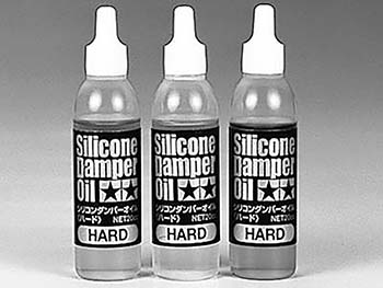 Tamiya SILICONE DAMPER OIL HARD SET 53445