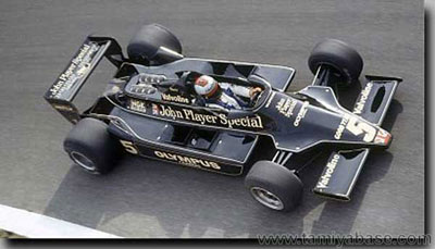 58020 Tamiya Lotus 79 real scale reference 1