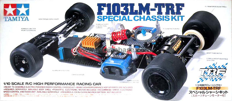 Tamiya F103LM-TRF Special Cassis Kit (for GT) 58258