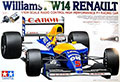 Tamiya 58105 Williams FX14 Renault