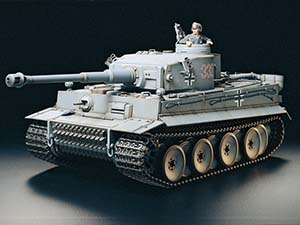 Tamiya German Tiger I Early Production RTR 23609