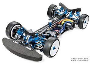 Tamiya TRF417X Reedy Race victory commemoration chassis kit 42235