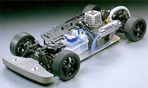 Tamiya TG10-Mk1 Chassis kit Long Suspension vesion 44041