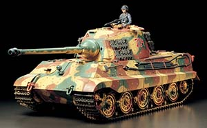 Tamiya King Tiger (Production Turret) 56018
