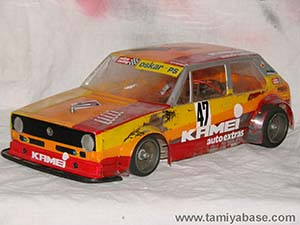 Tamiya VW Golf CS 58025