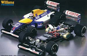 Tamiya Williams FW14 Renault 58105