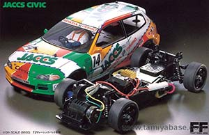 Tamiya Jaccs Civic 58133
