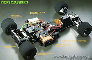 Tamiya F103RS Chassis Kit 58156