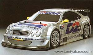 Tamiya Mercedes-Benz CLK DTM 2000 Team D2 58260