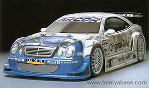 Tamiya Mercedes-Benz CLK DTM 2000 Team Original-Teile 58279