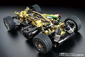 Tamiya M-05 chassis kit Gold Edition 84359