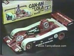 Tamiya promotional video Can Am Lola and Datsun 280ZX 58021