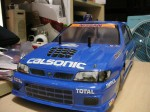 NISSAN PULSAR GTI-R BODY WITH CALSONIC DECAL